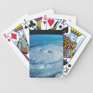 Eye of a Hurricane Bicycle Playing Cards