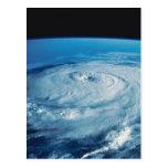Eye of a Hurricane Postcard