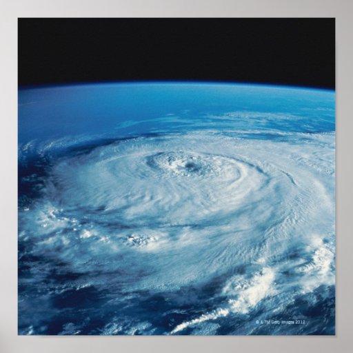 Eye of a Hurricane Poster