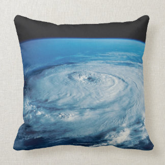 Eye of a Hurricane Throw Pillow