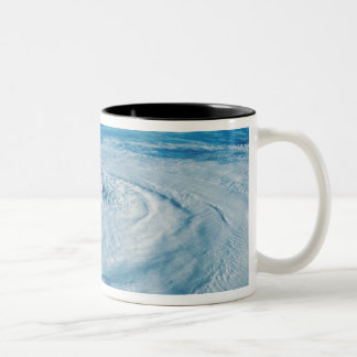 Eye of a Hurricane Two-Tone Coffee Mug
