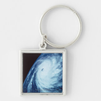Eye of a Storm Keychain