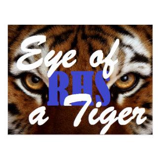 Eye of a Tiger RHS Postcard