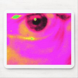 eye of an artist mouse mats