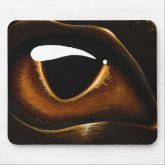 Eye Of Baby Bronze Mouse Pad