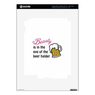 Eye Of Beer Holder Skins For iPad 3