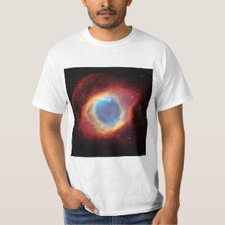 Eye of God Helix Nebula Cosmic Clouds Red Blue T-Shirt