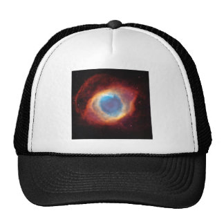 Eye of God Helix Nebula Cosmic Clouds Star Photo Trucker Hats