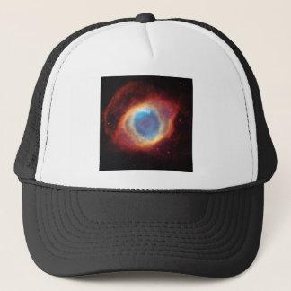 Eye of God Helix Nebula Cosmic Clouds Star Photo Trucker Hat