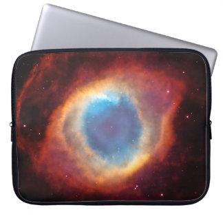 Eye of God Helix Nebula Cosmic Clouds Stars Laptop Sleeves