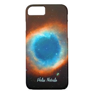 Eye of God Helix Nebula, Galaxies and Stars iPhone 7 Case