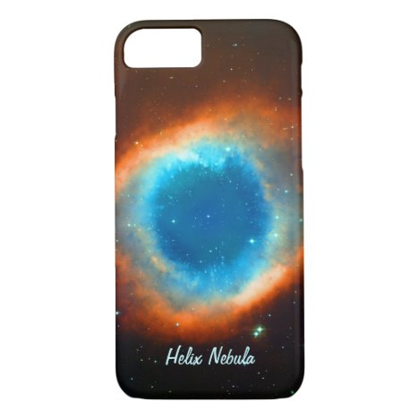 Eye of God Helix Nebula, Galaxies and Stars iPhone 7 Case