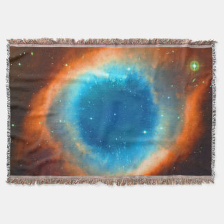 Eye of God Helix Nebula, Galaxies and Stars Throw