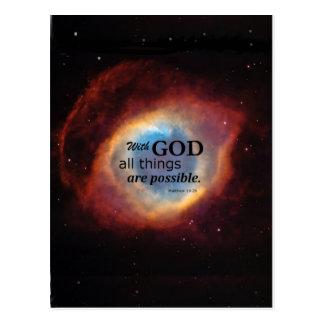Eye of God Postcard