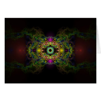 Eye of God - Vesica Piscis Greeting Card