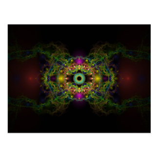 Eye of God - Vesica Piscis Postcard