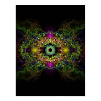 Eye of God - Vesica Piscis Post Cards