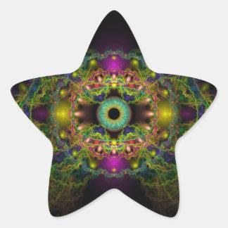 Eye of God - Vesica Piscis Star Sticker