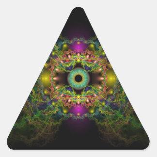 Eye of God - Vesica Piscis Triangle Sticker