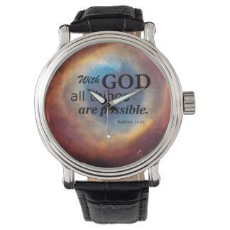 Eye of God Wrist Watch