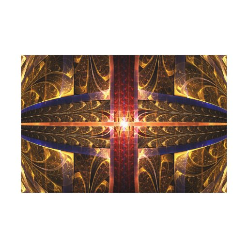 Eye of Gold - Wrapped Canvas Gallery Wrapped Canvas