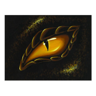 Eye Of Golden Embers Postcard