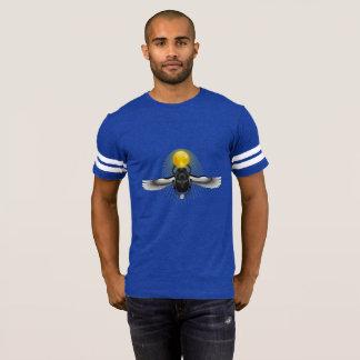 Eye of Heru Wings Scarab  Men's Football Shirt