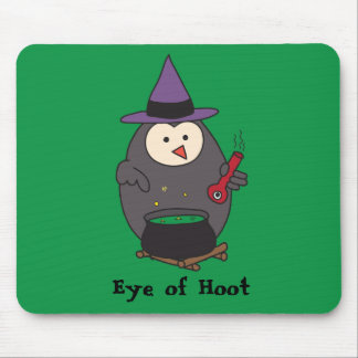 Eye of Hoot (Wizard Owl) Mouse Pad