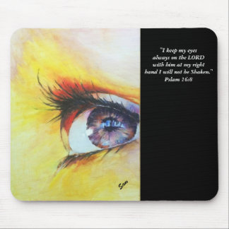 """Eye of Hope"" Mousepad by Sam"