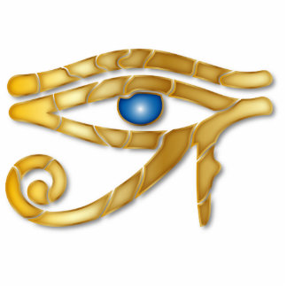 Eye of Horus 8 - Ornament Sculpture