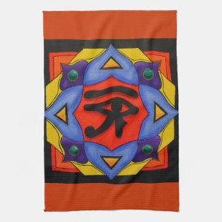 Eye Of Horus American MoJo Kitchen Towels
