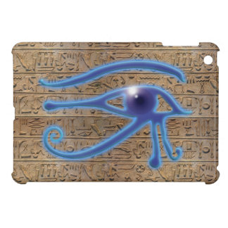 Eye of Horus Ancient Egyptian Hieroglyphs iPad Mini Case