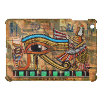 Eye of Horus Ancient Egyptian Wadjet Symbol iPad Mini Cases