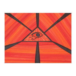 Eye Of Horus: Ancient Light C1 SDL Canvas Print