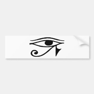 Eye Of Horus Car Bumper Sticker