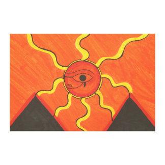 Eye Of Horus C1 SDL Canvas Print