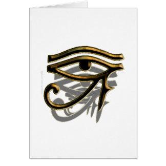 Eye of Horus Card