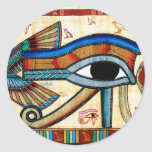 EYE OF HORUS Collection Classic Round Sticker