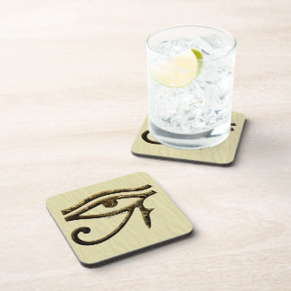 Eye of Horus Beverage Coasters