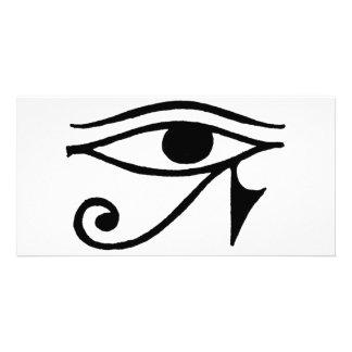 Eye of Horus Custom Photo Card