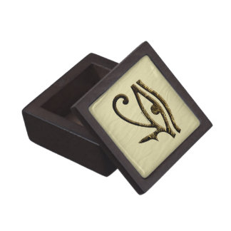 Eye of Horus Dark Premium Keepsake Box