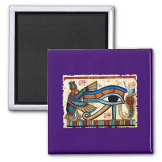 EYE OF HORUS Egyptian Art Magnet Collection