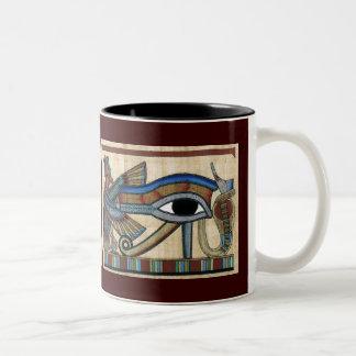 Eye of Horus Egyptian Art Mug