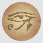 Eye of Horus Egyptian Magic Charms Classic Round Sticker