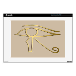 "Eye of Horus Egyptian symbol 15"" Laptop Decals"