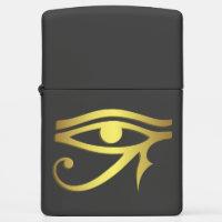 Eye of horus Egyptian symbol black Zippo Lighter