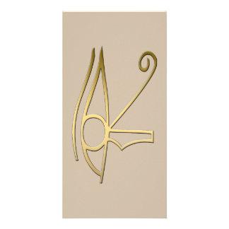 Eye of Horus Egyptian symbol Card