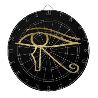 Eye of Horus Egyptian symbol Dartboard With Darts