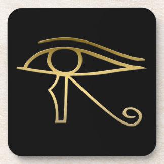Eye of Horus Egyptian symbol Drink Coasters