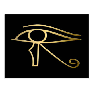 Eye of Horus Egyptian symbol Postcard